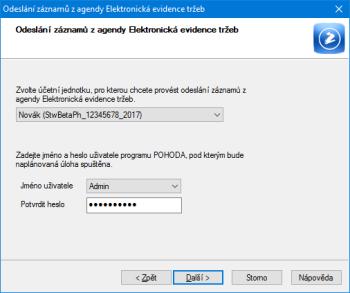 Program POHODA nyní umožňuje automatické odesílání dat na server EET, které se nepodařilo odeslat v době tisku dokladů.